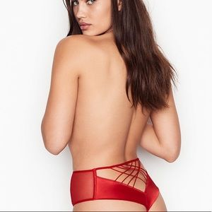 NWT Victoria's Secret high waist starburst panty.